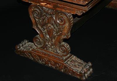 Italian, Renaissance Period, Walnut Refectory Table   For Sale