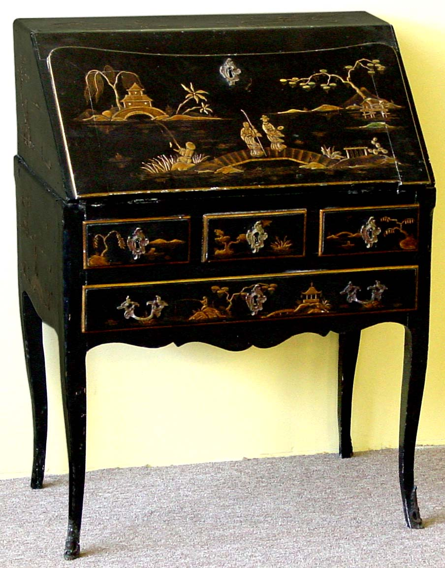Antique Chinoiserie Furniture Image And Candle - Antique Chinoiserie Furniture - Image Antique And Candle