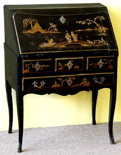 Louis Xv Style Chinoiserie Secretary Dos D Ane For