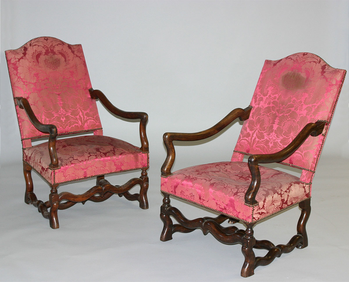 pair of louis xiv style fauteuils for sale classifieds. Black Bedroom Furniture Sets. Home Design Ideas