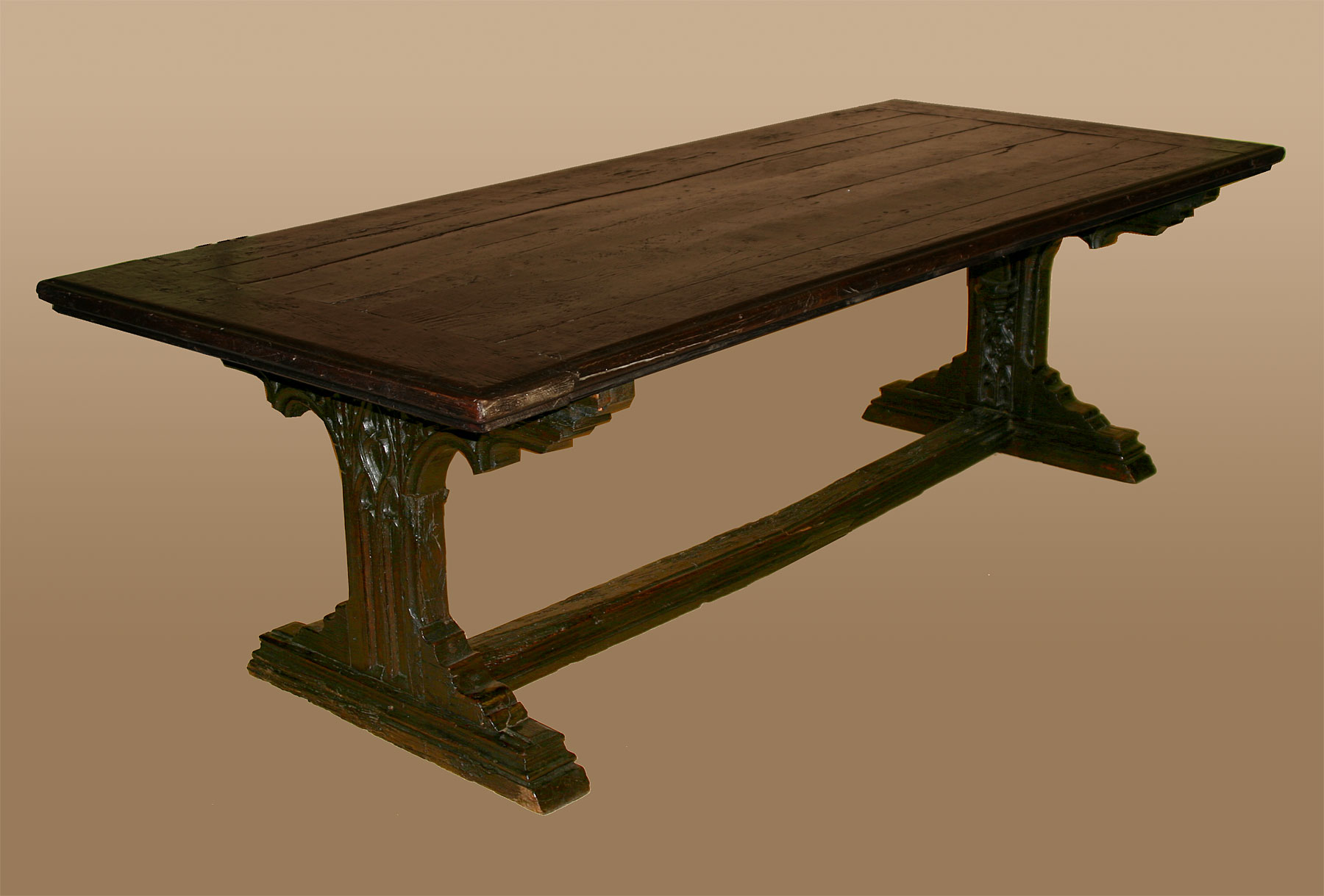 Rare Northern European Gothic period refectory table For  : ori174619974Rare Northern European Gothic period refectory tableitem811 from www.antiques.com size 1800 x 1219 jpeg 160kB