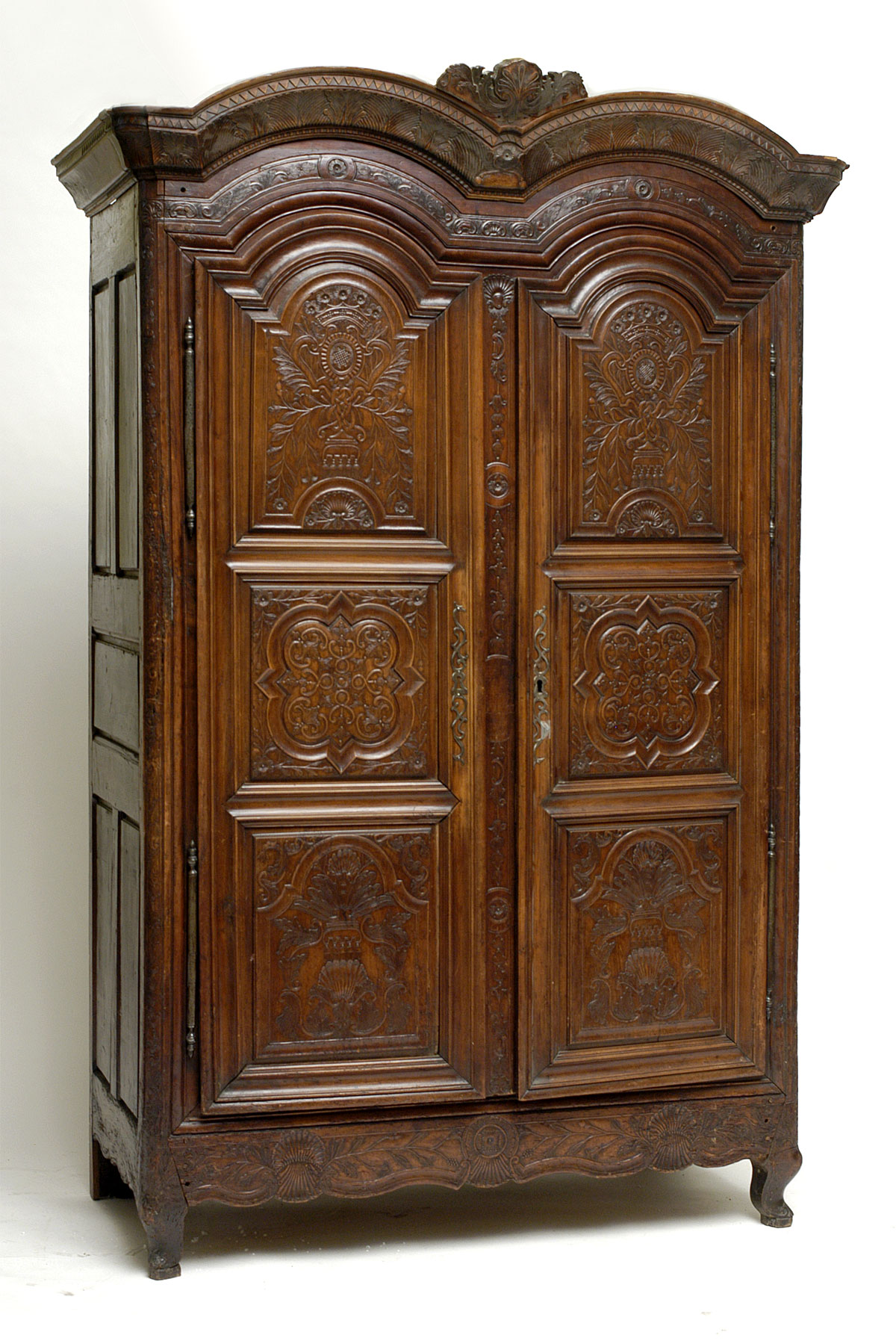 very fine french regence period armoire for sale. Black Bedroom Furniture Sets. Home Design Ideas