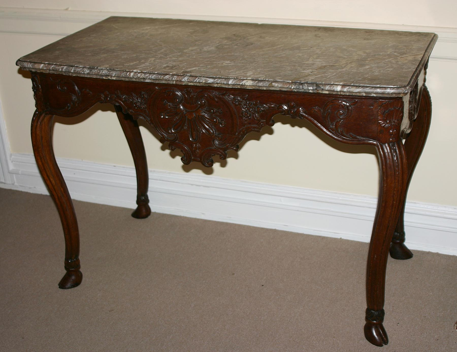 very fine french provincial regence period console table for sale classifieds. Black Bedroom Furniture Sets. Home Design Ideas