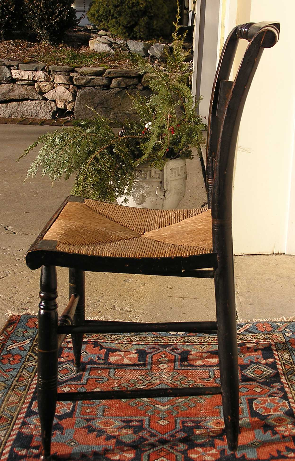 An American Empire Hitchcock Chair C 1826 1843 For Sale