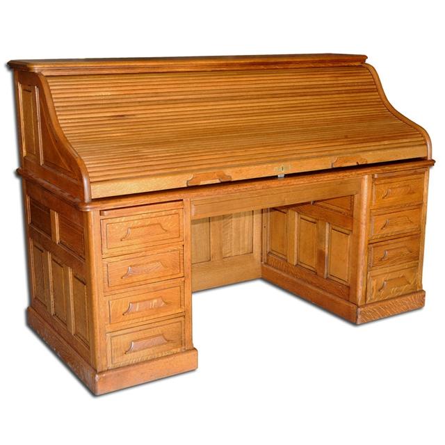 fantastic 19th c american oak rolltop desk for sale classifieds. Black Bedroom Furniture Sets. Home Design Ideas