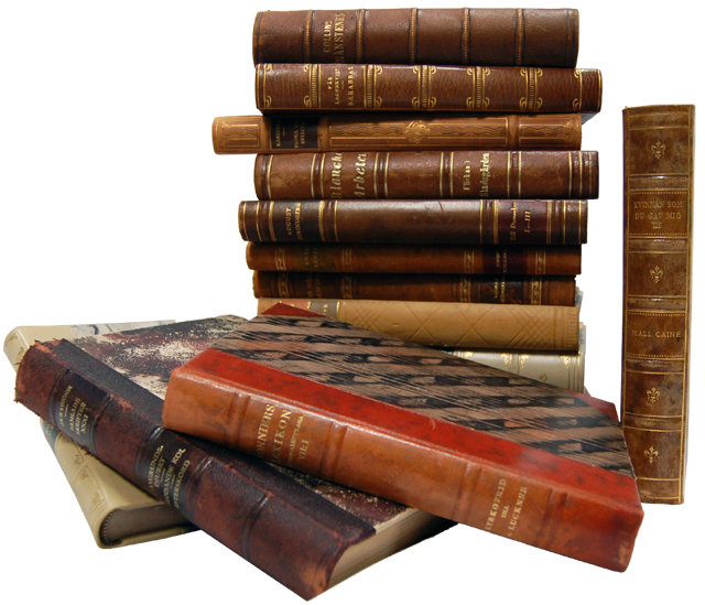 Very Rare Antique Leather Bound Books For Sale   Antiques ...