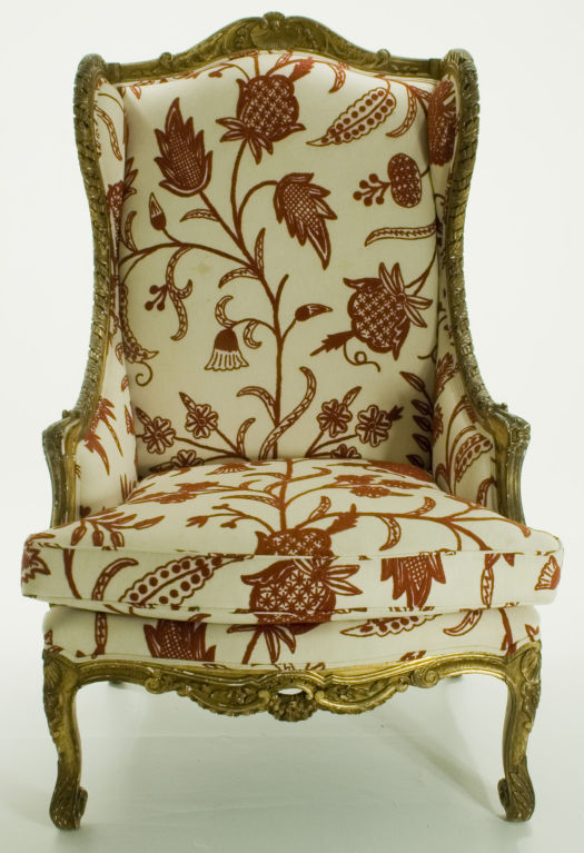 Antique Wingback Chair Styles Antique Furniture