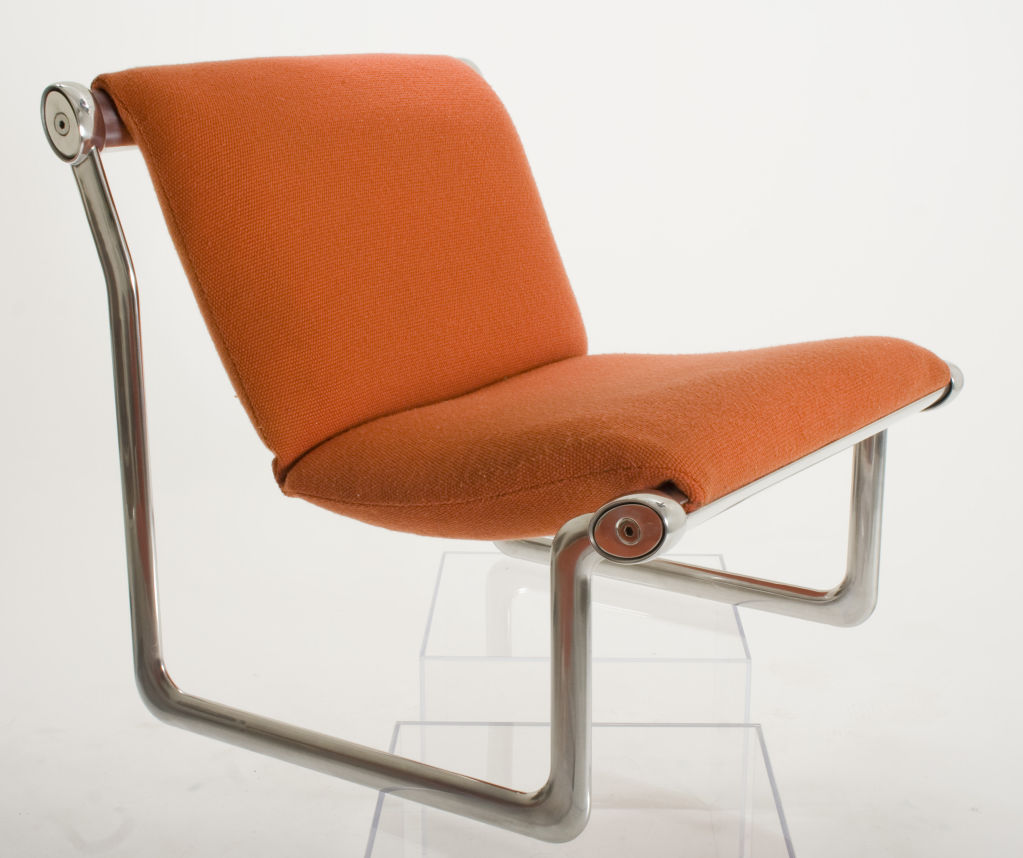 Pair of knoll lounge chairs model 2011 for sale for 80s lounge chair