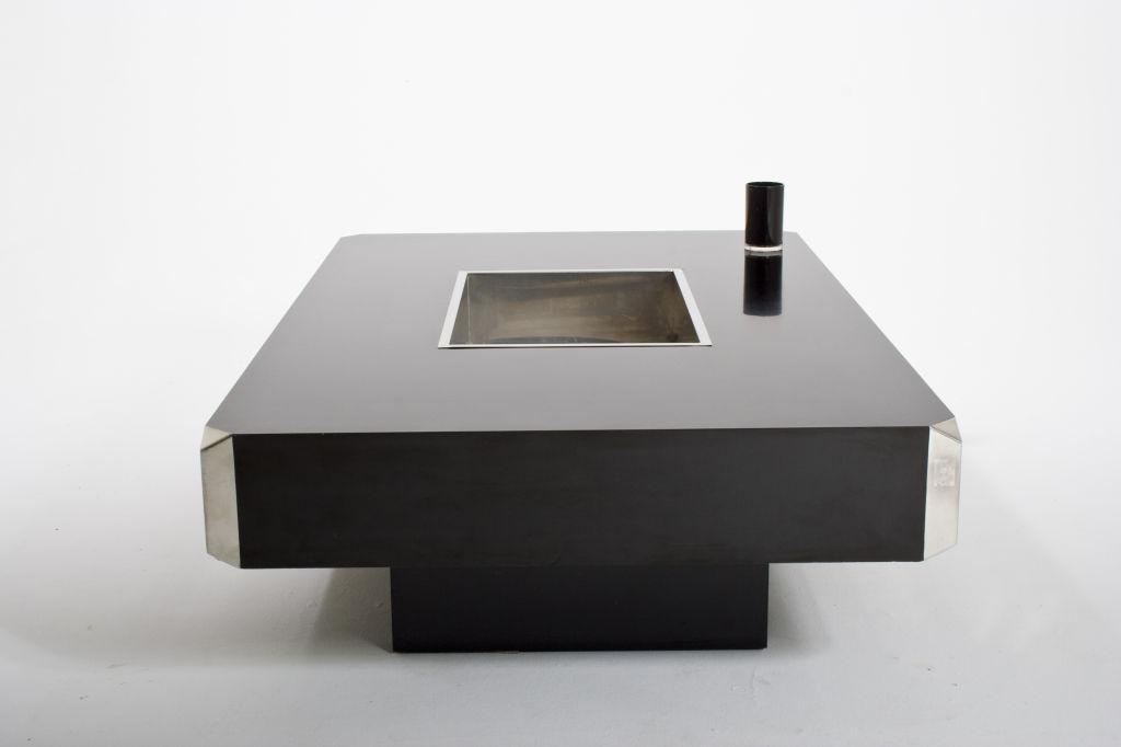 Willy rizzo cocktail table for sale for Retro 80s furniture