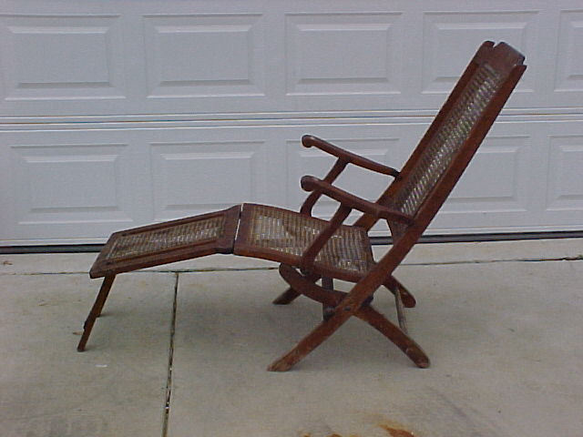 This chair was aquired by seller in St Peteresburg, Florida in an estate  sale along with some White Star dinner ware. One of the family members was  said to ... - Titanic Deck Chair For Sale Antiques.com Classifieds