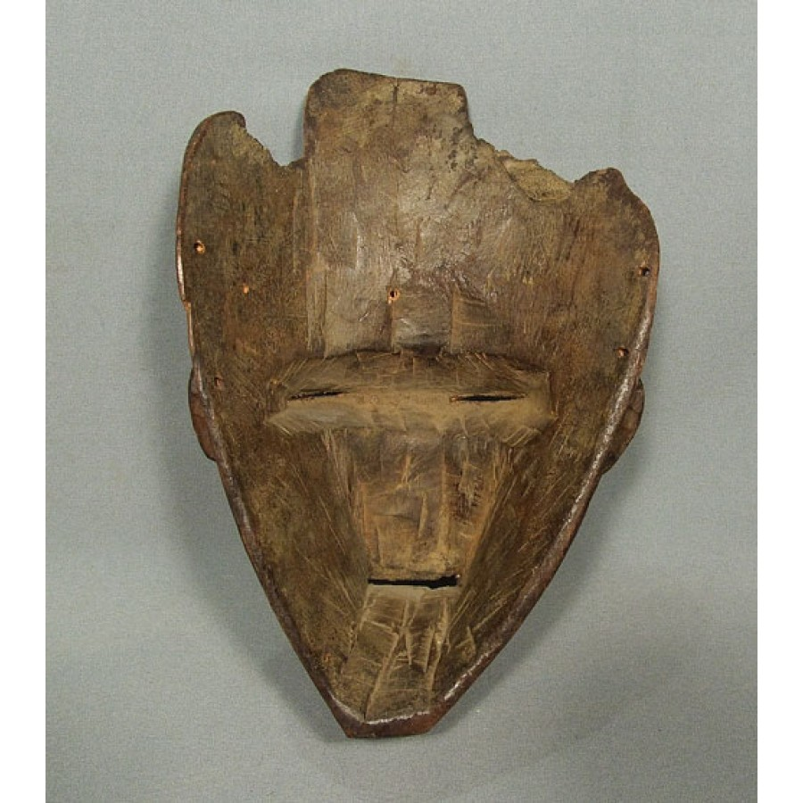Antique African Wooden Mask Chokwe Angola For Sale