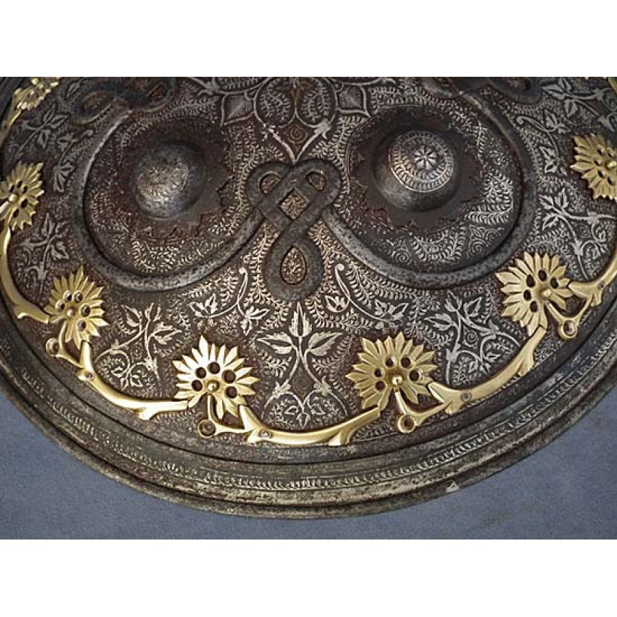 Sold Antique 18th Century Islamic Indo Persian Shield Dhal