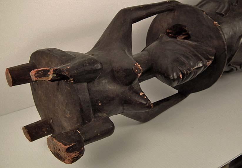 African Ceremonial Drum Pinge Senufo Ivory Coast Cote d'Ivoire For Sale | Antiques.com | Classifieds