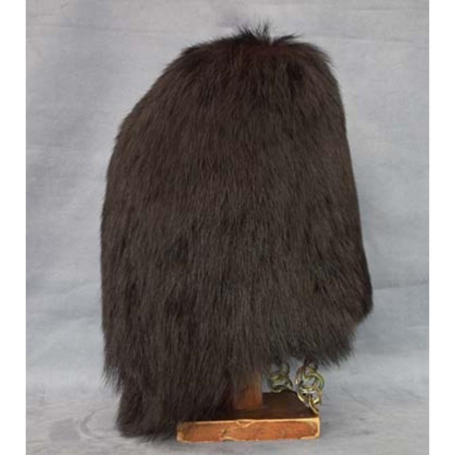 sold antique british grenadier guards bearskin hat carrying case