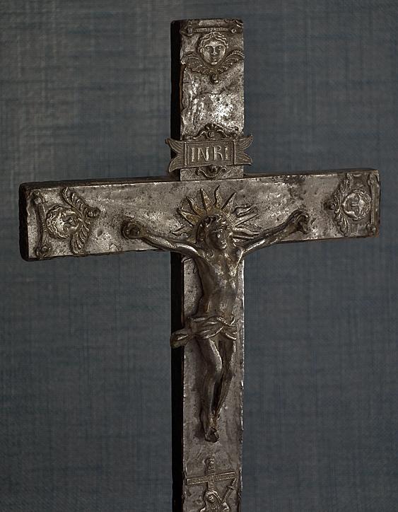 Ars Liturgica Kaltner pr/äsente Bronze/» et /«Croix Crucifix Mural Moderne en Forme de Soleil