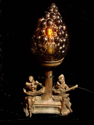 Whimsical 1930 39 s minstrel lamp for sale for Funny lamps for sale