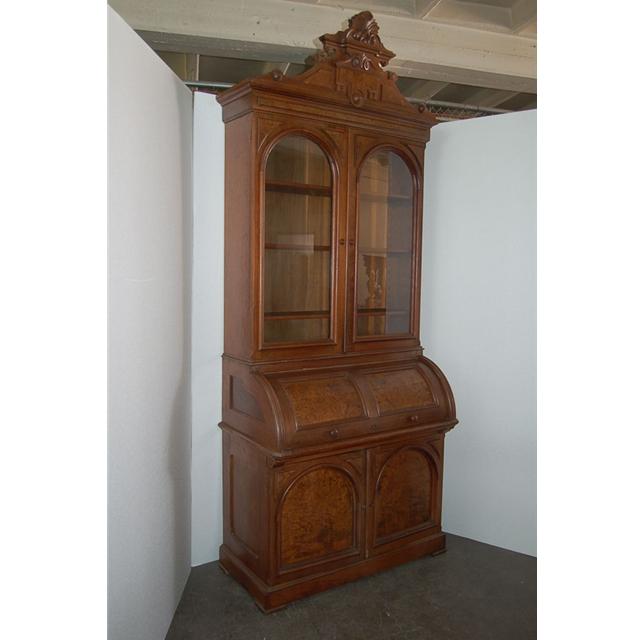 Elegant antique walnut secretary desk for sale classifieds - Vintage pieces of furniture old times elegance ...