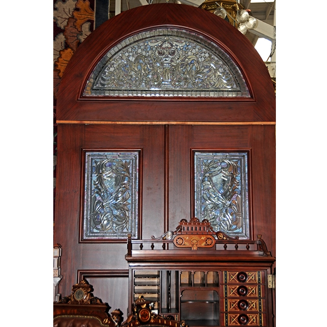 Beautiful Pair Of Antique Oak Entry Doors Doors For Sale Cla