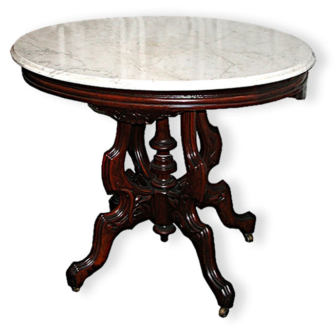 American Victorian Marble Top Center Table For Sale  : ori1980 from www.antiques.com size 650 x 646 jpeg 152kB