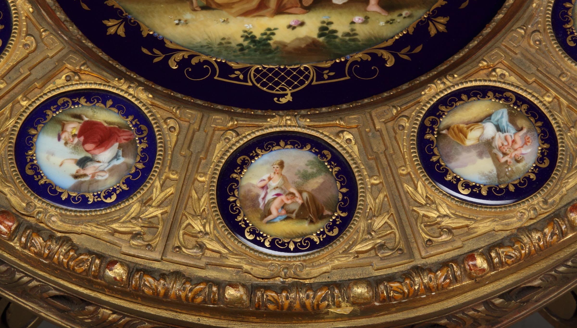 A 19th Century Austrian Porcelain Royal Vienna Table For