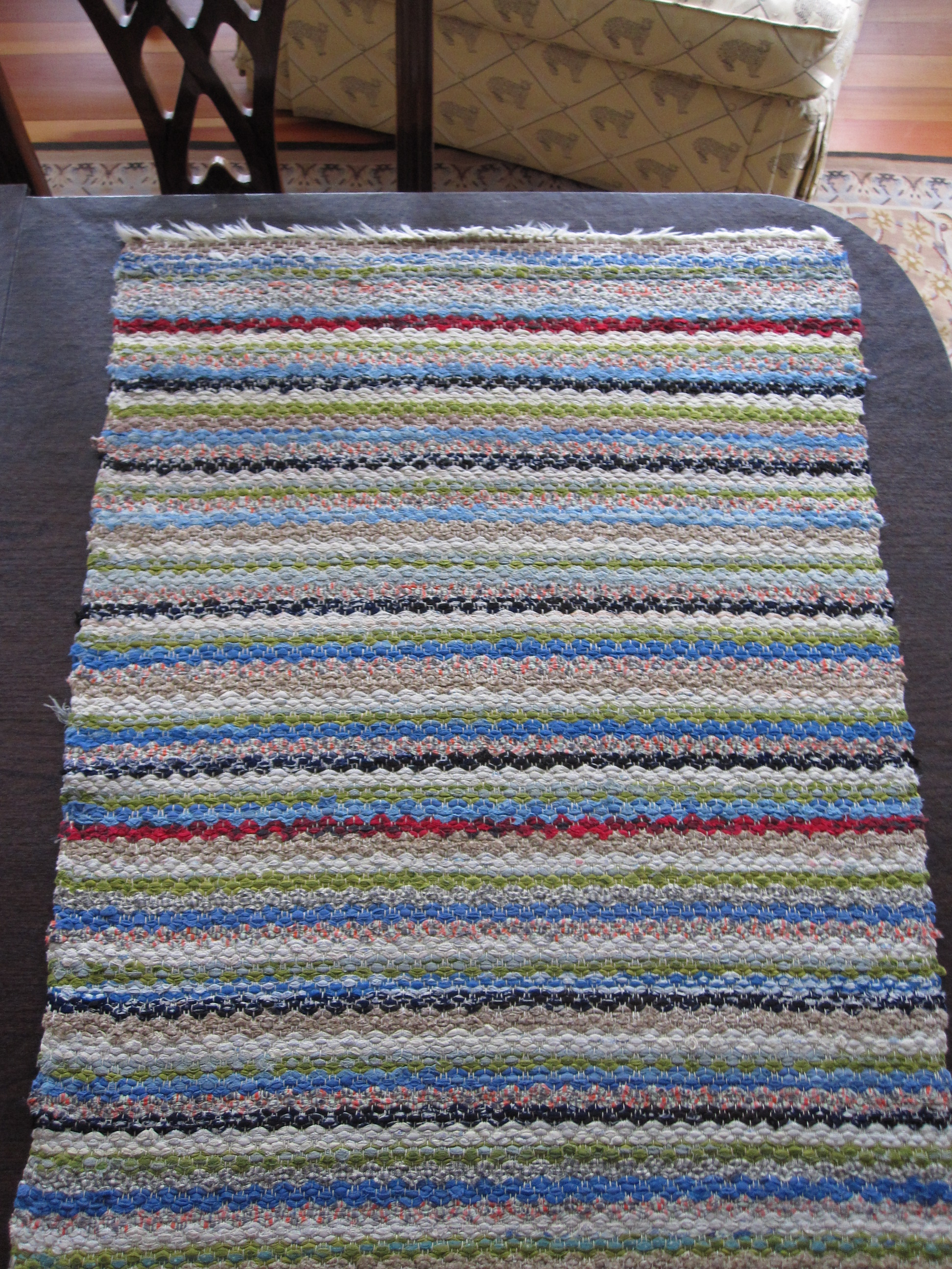How to make old fashioned rag rugs