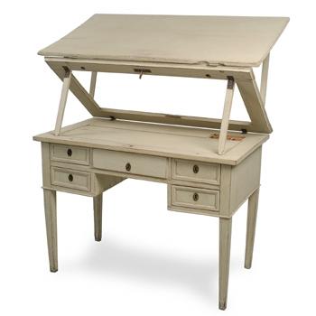 Swedish Antique Drafting Desk 1790 1800 For Sale Antiquescom