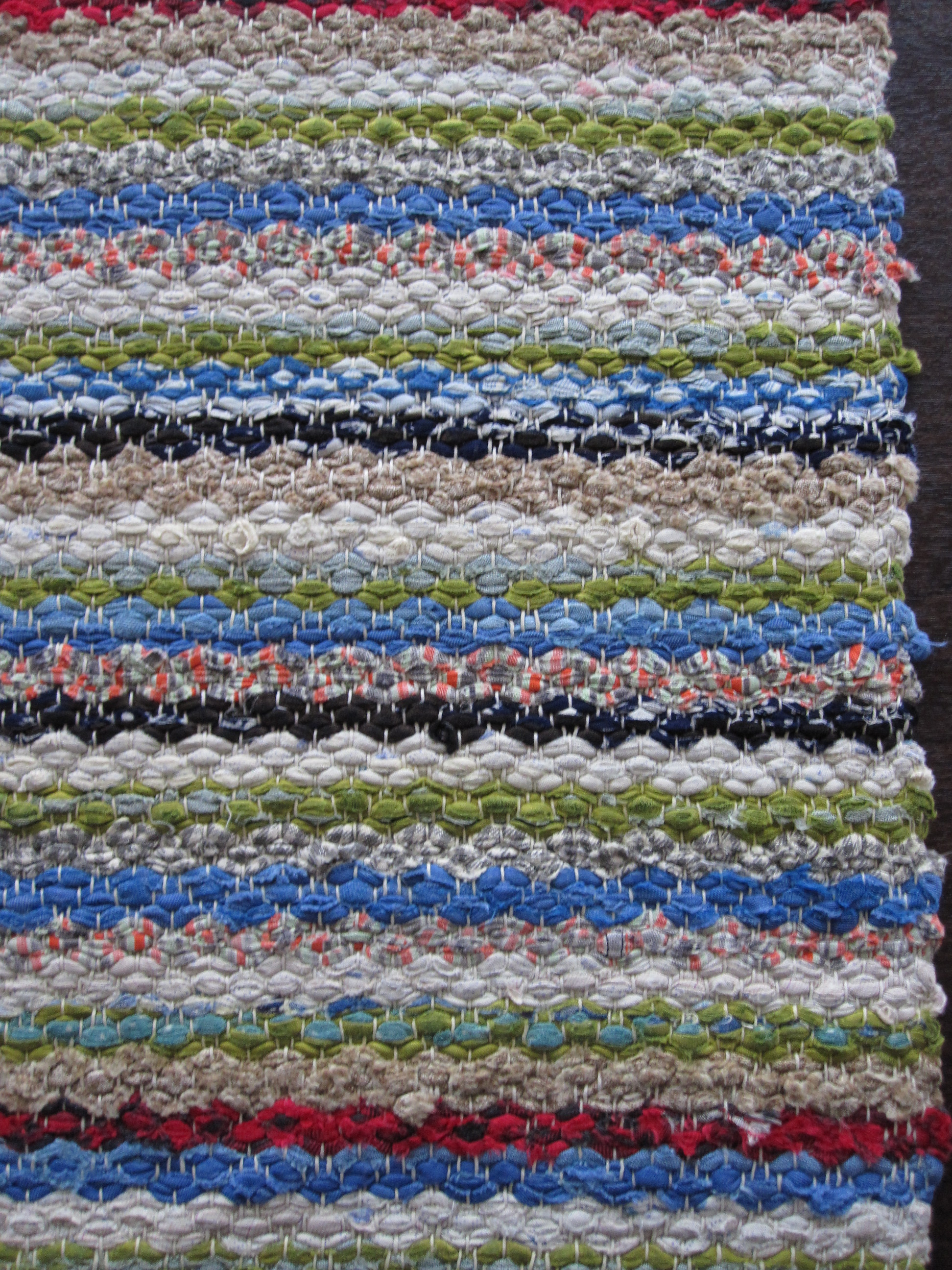 Item Name Swedish Rag Rug Mid 20th Century Excellent Condition Machine Washable Hang To Dry Beautiful Colors Id 0808 1027