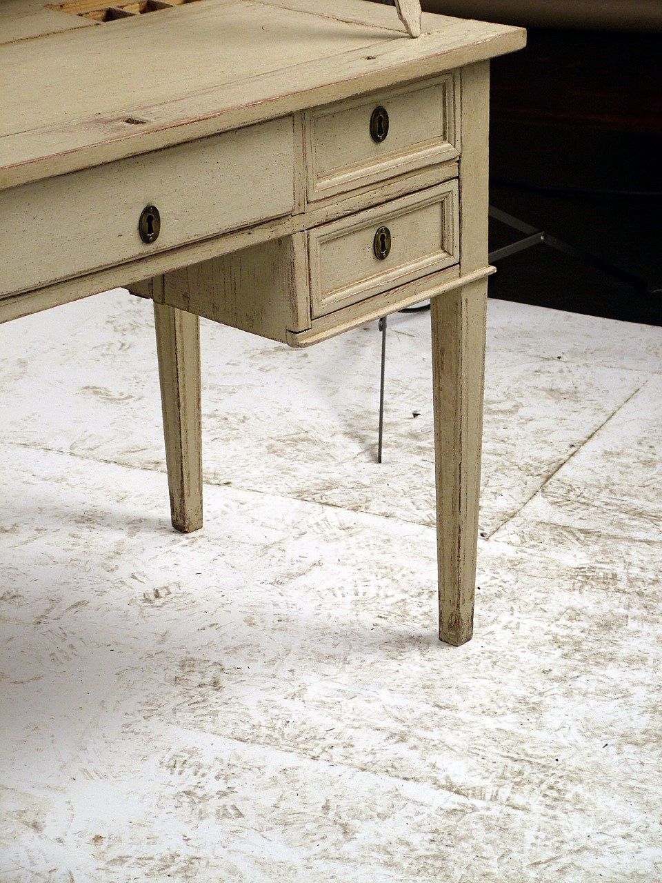 A Unique Drafting Desk From The Gustavian Period In Sweden And Red Classic White Gray This Is Highly Versatile With Its Ability To Adjust