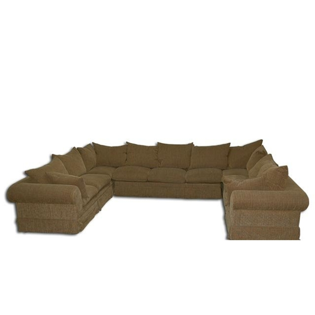 large down filled 4 piece sectional sofa for sale On wide couches for sale
