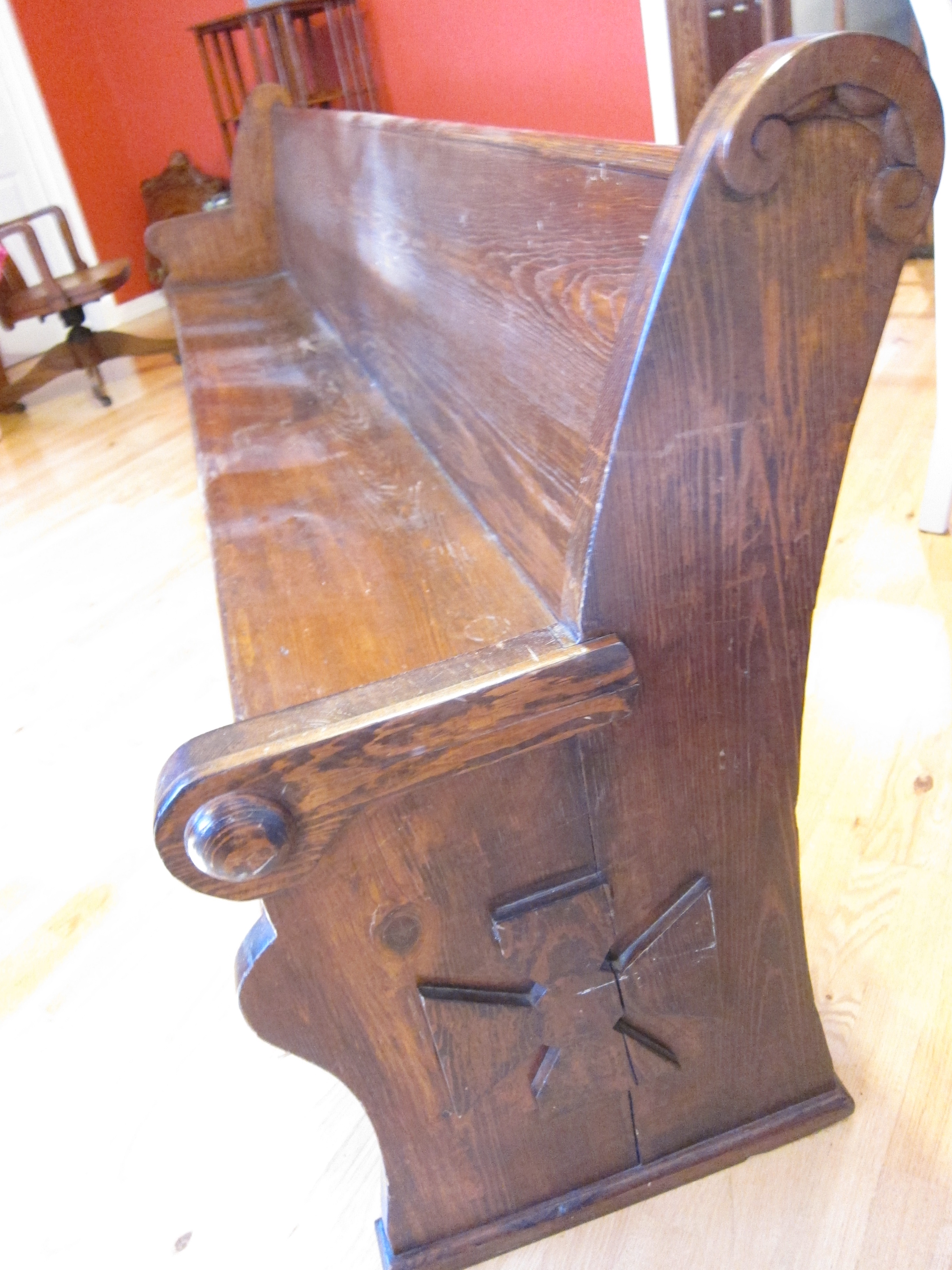 Vintage Wood Benches for Sale