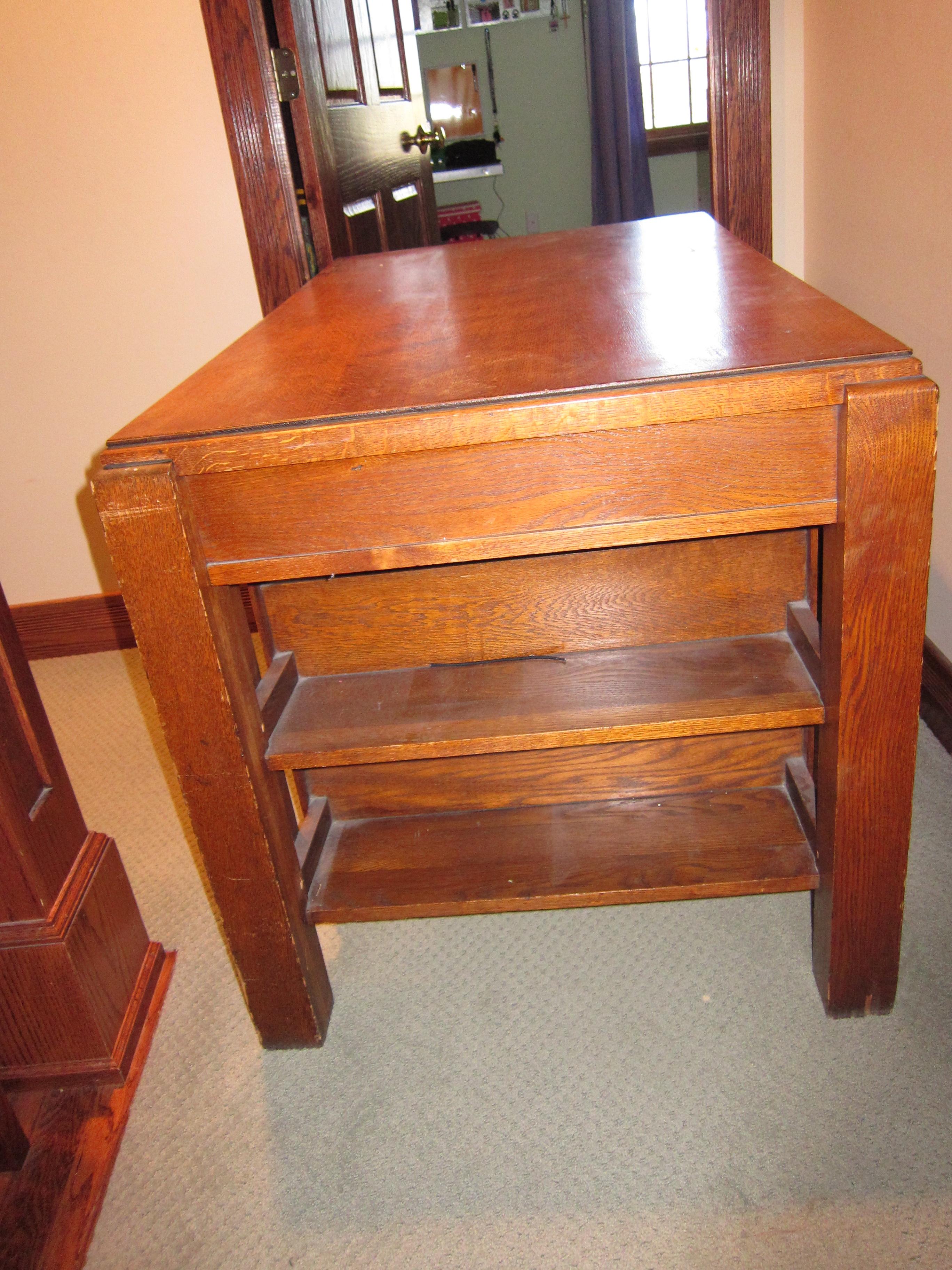 partner oak library desk for sale classifieds. Black Bedroom Furniture Sets. Home Design Ideas