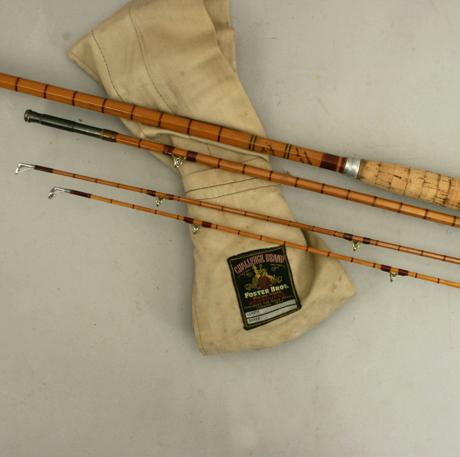 Antique fly fishing rods images for Antique fishing poles
