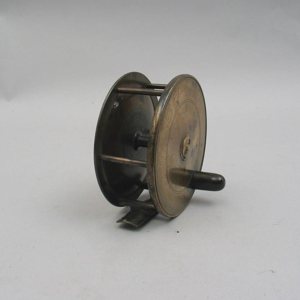 antique hardy bros fishing reel for sale