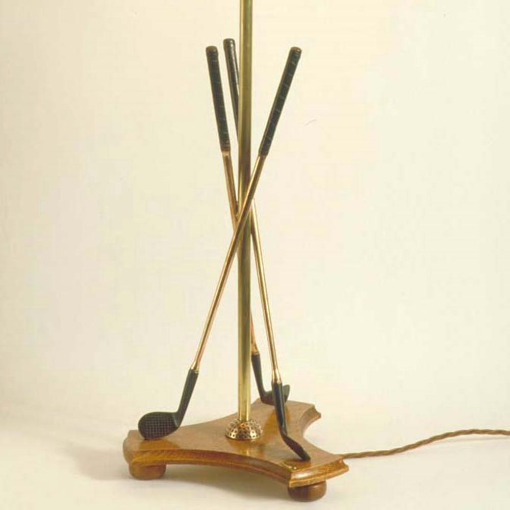 This Made To Order Golf Lamp Is Hand Crafted From High Quality Traditional  Materials In Our Workshops Set In The Heart Of The Cotswolds.