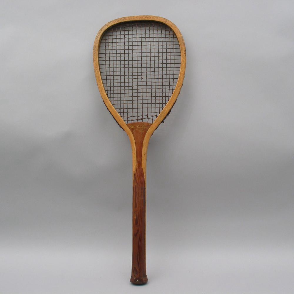 Flat top Lawn Tennis Racket For Sale | Antiques.com ...