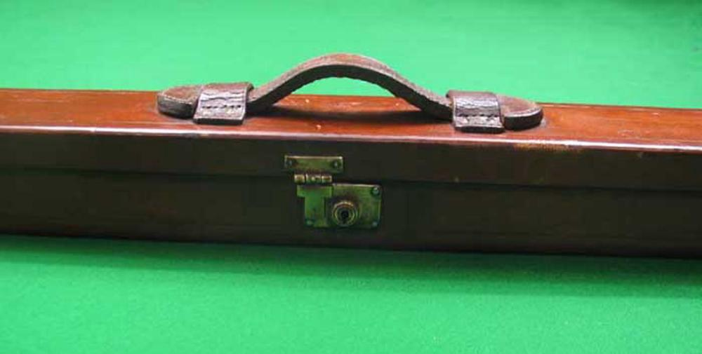 Snooker Leather Cue Case For Sale Antiques Com Classifieds