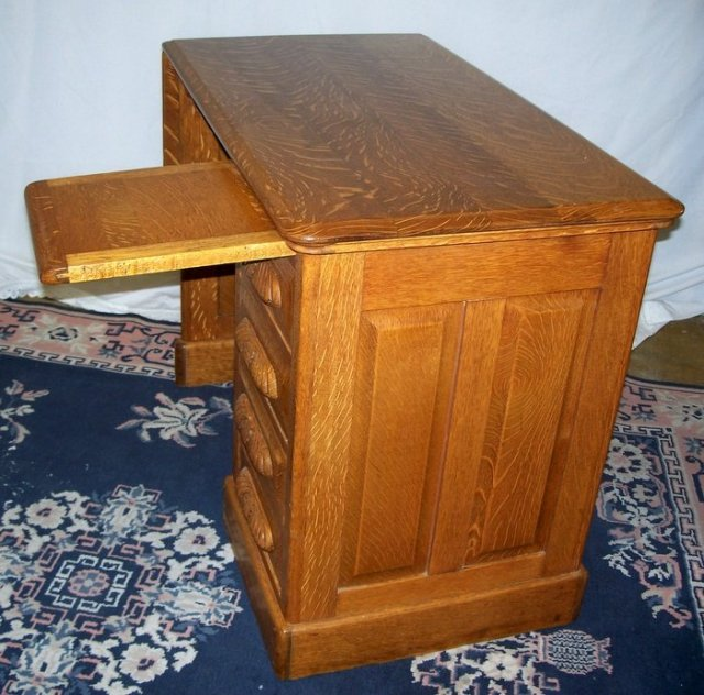 solid oak childs desk with drop leaf dated 1896 for sale classifieds. Black Bedroom Furniture Sets. Home Design Ideas