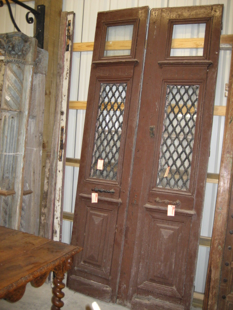 Antique double doors for sale antique furniture for Double french doors for sale