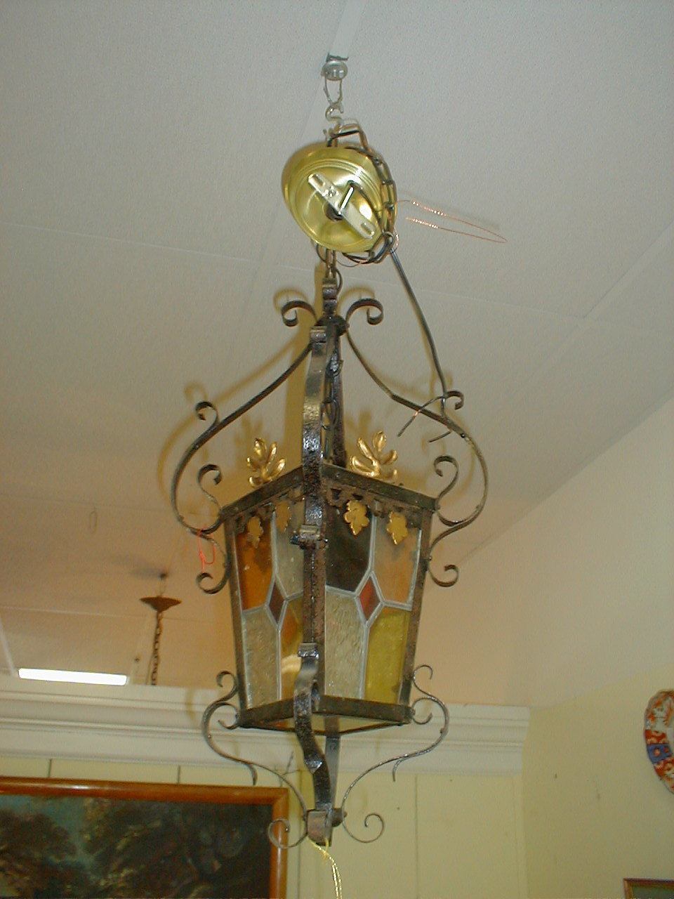 Foyer Chandelier For Sale : French foyer chandelier for sale antiques