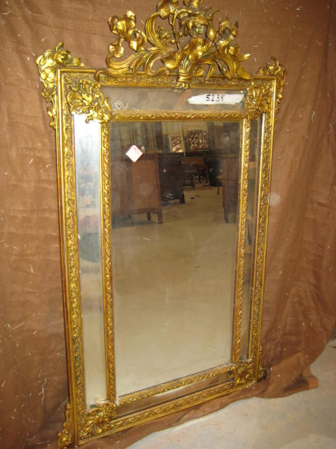 2077316 double pained antique french mirror for sale for Mirrors for sale