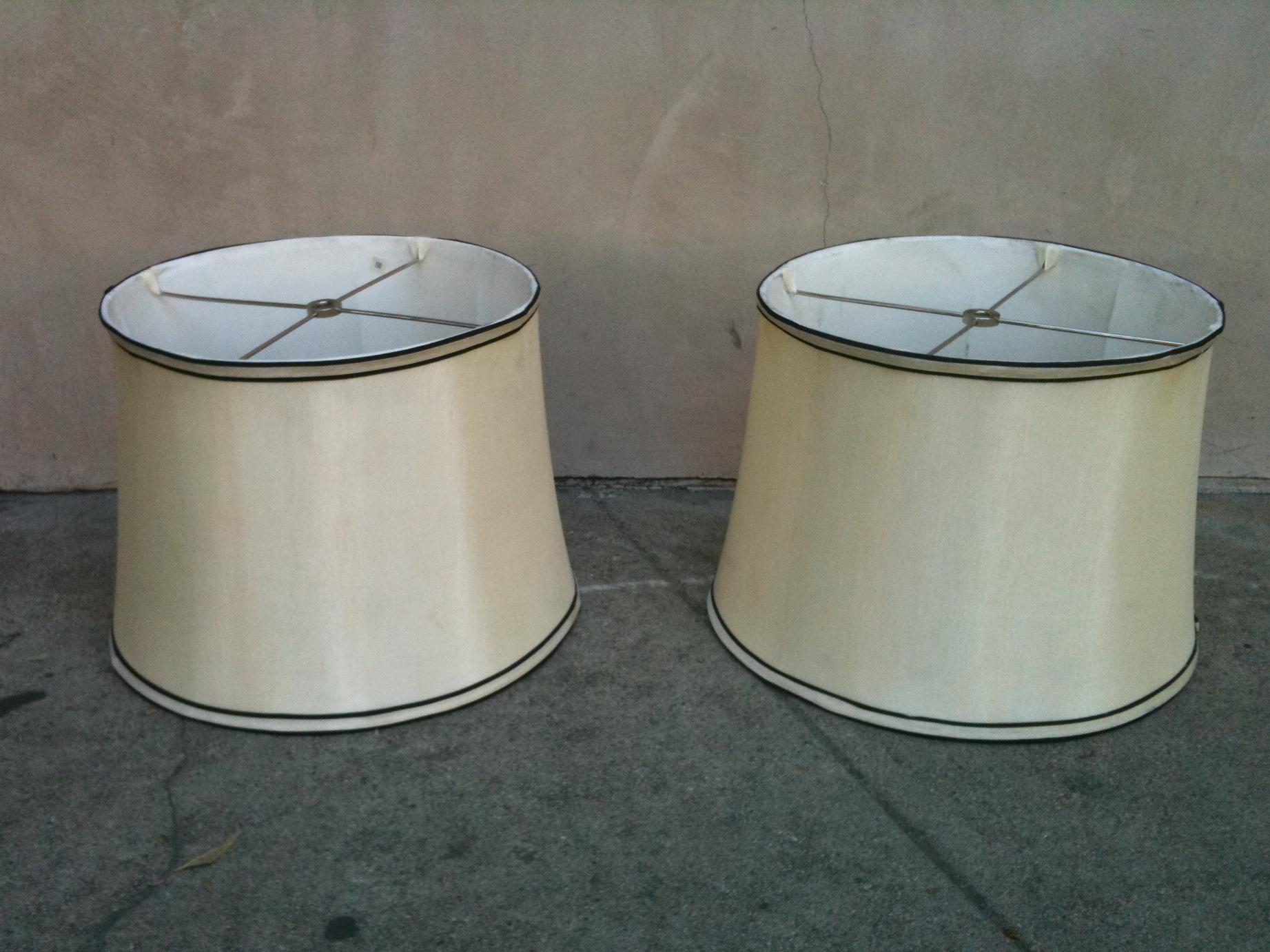 black white vintage lamp shades for sale. Black Bedroom Furniture Sets. Home Design Ideas