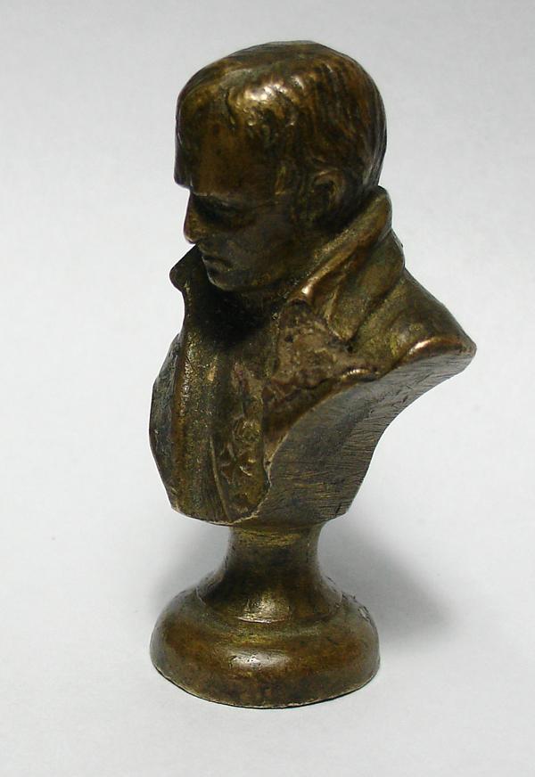 Very Rare Napoleon Bonaparte Antique Bronze Wax Seal Mr For