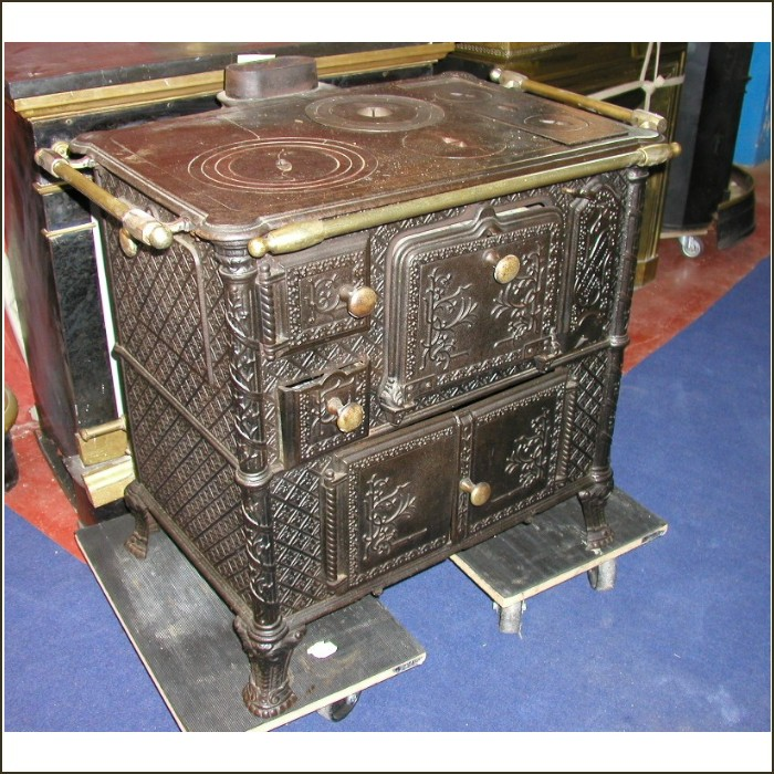 Kitchen Stoves For Sale: A French Cast Iron Kitchen Range For Sale