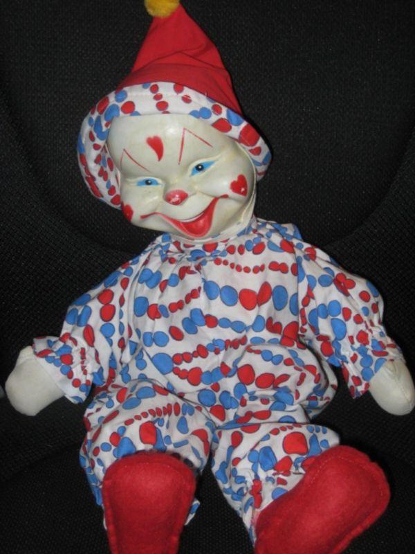 Fun Vintage Clown Doll Pj Bag Gund 1960 S Excellent For Sale Antiques Com Classifieds