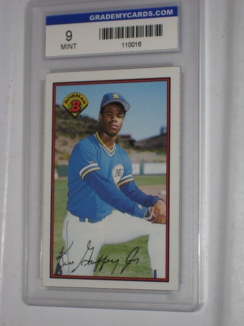 Ken Griffey Jr Rookie Baseball Card Mint Bowman For Sale