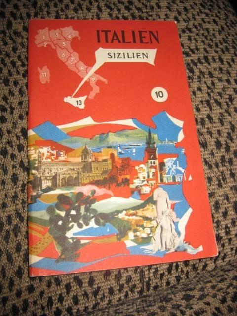 VTG 1958 ITALY TRAVEL BROCHURE IN ITALIAN GREAT PICS For Sale ...