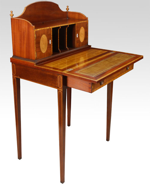antique mahogany writing desk