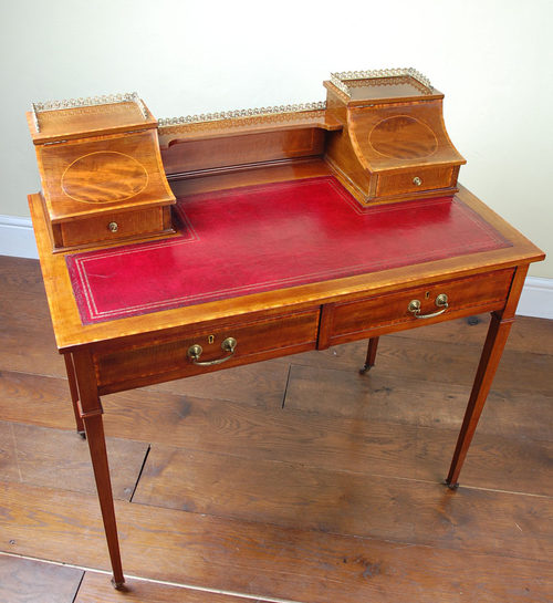 Antique Writing Desk ~ Antique mahogany writing desk for sale antiques