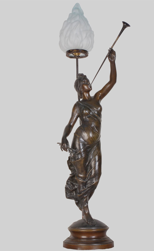 victorian spelter lamp figure for sale classifieds. Black Bedroom Furniture Sets. Home Design Ideas