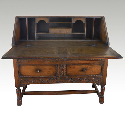 a large oak bureau for sale classifieds. Black Bedroom Furniture Sets. Home Design Ideas